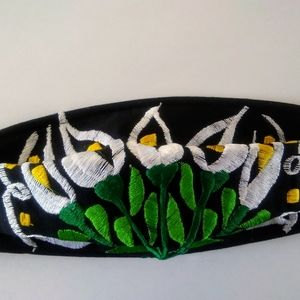 New embroidered floral women face masks